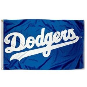 MLB Los Angeles Dodgers Team Flag   2