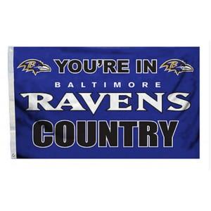 NFL Baltimore Ravens Team Flag   2