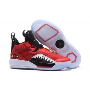 Air Jordan 33 'Future of Flight' Red/Black-White Shoes