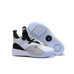 Air Jordan 33 White/Grey-Black Shoes