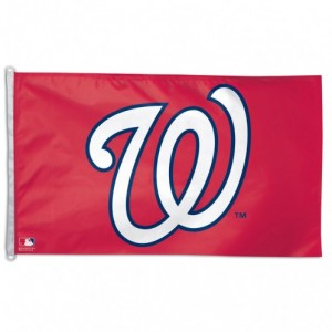 MLB Washington Nationals Team Flag   2