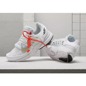 "Off-White x Nike Presto ""Polar Opposites White"" Shoes"