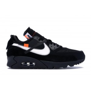 "Nike Air Max 90 "" Off white"" Black Shoes"