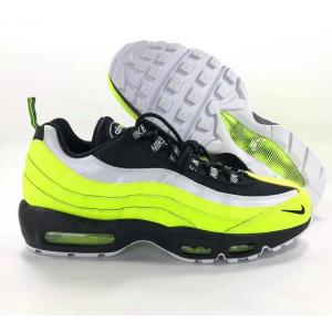 Nike Air Max 95 PRM Volt Black White Shoes