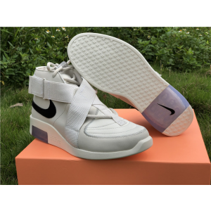Nike Air Fear of God Moc White Shoes