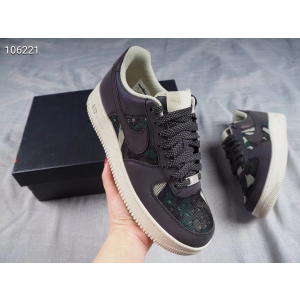 Nike Air Force 1 07 LV8 Purple Black Shoes