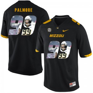 NCAA Missouri Tigers 99 Walter Palmore Black Nike Fashion College Football Men Jersey