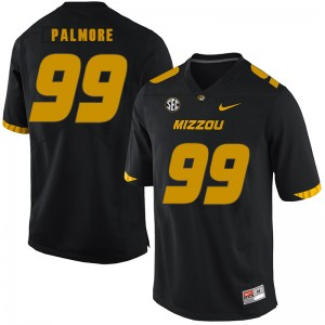NCAA Missouri Tigers 99 Walter Palmore Black Nike College Football Men Jersey