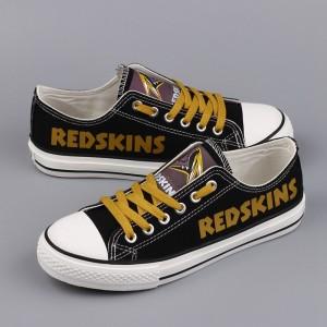 NFL Washington Redskins Repeat Print Low Top Sneakers