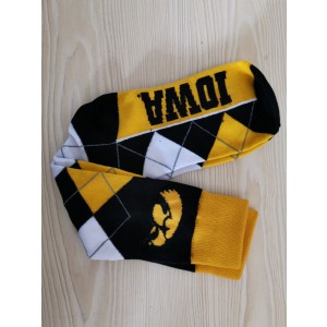 Iowa Hawkeyes Team Logo NCAA Socks