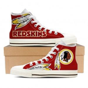 NFL Washington Redskins Repeat Print High Top Sneakers