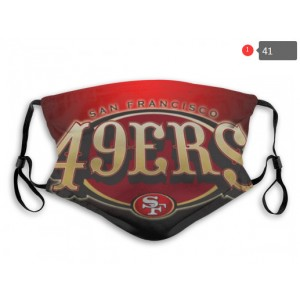 49ers Sports Face Mask 0041
