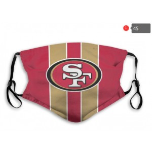 49ers Sports Face Mask 0045
