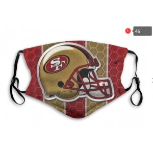 49ers Sports Face Mask 0046