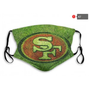 49ers Sports Face Mask 0047