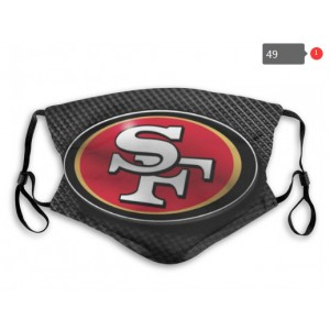 49ers Sports Face Mask 0048