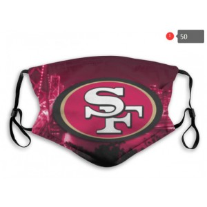 49ers Sports Face Mask 0050