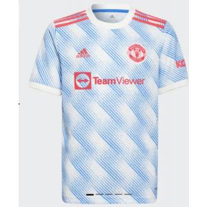 2021-22 Manchester United Blue Soccer Men Jersey