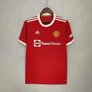 2021-22 Manchester United Red Soccer Men Jersey