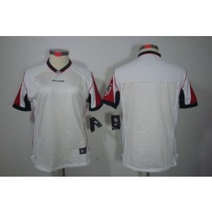 Nike Atlanta Falcons Blank White Wo jersey