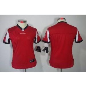 Nike Atlanta Falcons Blank Red Wo jersey