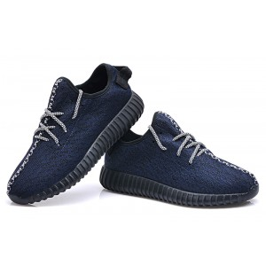 Adidas Yeezy Dark Blue Shoes