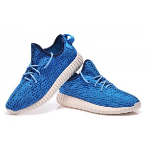 Adidas Yeezy Navy Blue Shoes