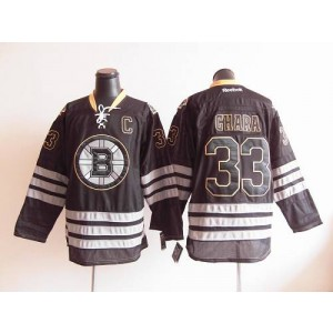 NHL Bruins 33 Zdeno Chara Black Ice Men Jersey