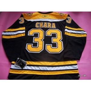 NHL Bruins 33 Zdeno Chara Black Men Jersey