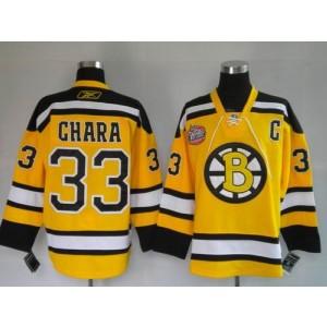 NHL Bruins 33 Zdeno Chara Winter Classic Yellow Men Jersey