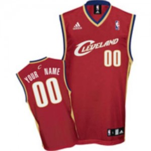 NBA Cavaliers Red Customized Men Jersey