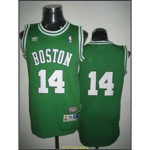 NBA Celtics 14 Bob Cousy Green Throwback Men Jersey