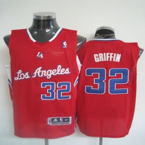 NBA Clippers 32 Blake Griffin 2011 Red Revolution 30 Men Jersey