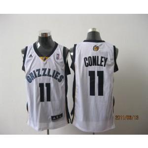 NBA Grizzlies 11 Michael Conley White Revolution 30 Men Jersey