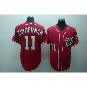MLB Nationals 11 Zimmerman Ryan Men Jersey