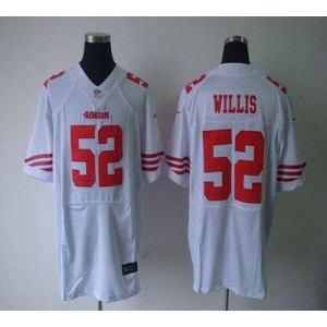 Nike San Francisco 49ers No.52 Patrick Willis White Elite Jersey