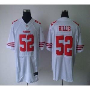 Nike San Francisco 49ers No.52 Patrick Willis White Elite Jersey
