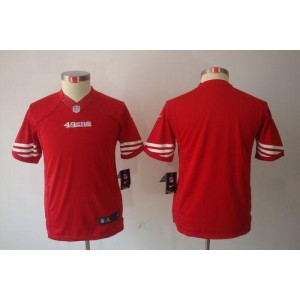 Youth Nike San Francisco 49ers Blank Red NFL Limited Jersey