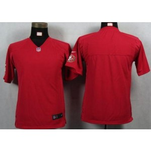 Youth Nike San Francisco 49ers Blank Red NFL Game Jersey