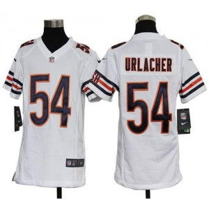 Youth Nike Chicago Bears 54 Brian Urlacher White NFL Elite Jersey
