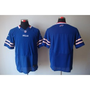 Nike NFL Buffalo Bills Blank Royal Blue NFL Elite Football Jersey