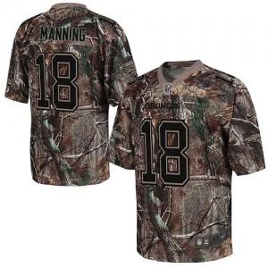 Nike Denver Broncos No.18 Peyton Manning Camo Realtree Elite NFL Jersey
