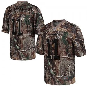 Nike Arizona Cardinals No.11 Larry Fitzgerald Camo Realtree Elite Football Jersey