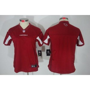 Nike Arizona Cardinals Blank Red Women's Jersey