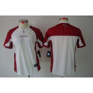 Nike Arizona Cardinals Blank White Women's Jersey