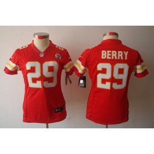 NFL Nike Chiefs 29 Eric Berry Red Women's Limited Jersey