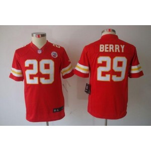 Youth Nike Kansas City Chiefs 29 Eric Berry Red NFL Limited Jersey
