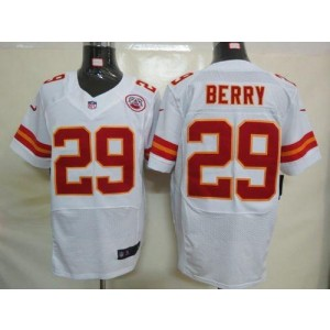 Nike Kansas City Chiefs No.29 Eric Berry White Elite Stitched Football Jersey
