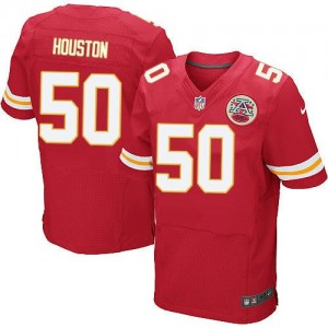 Nike Kansas City Chiefs No.50 Justin Red Elite Stitched Football Jersey