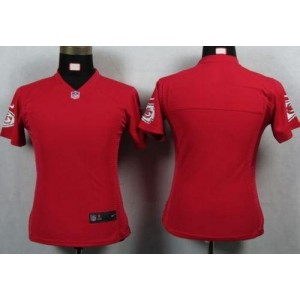 NFL Nike Chiefs Blank Red Women's Game Jersey